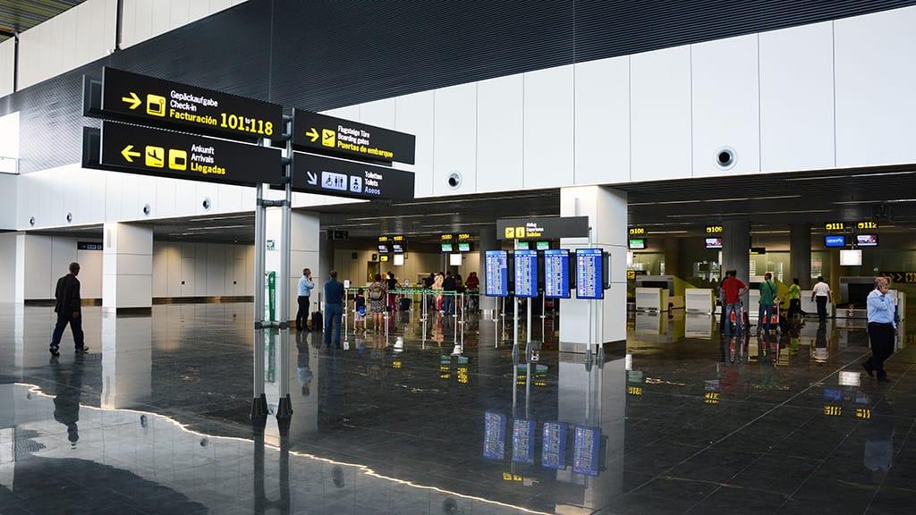 las palmas airport ankunft